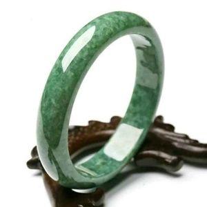 Jade Solid Bangle Bracelet